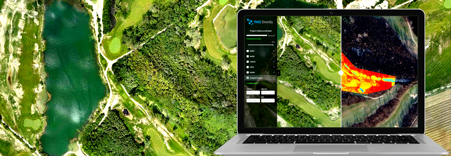 Monitoring of golf course